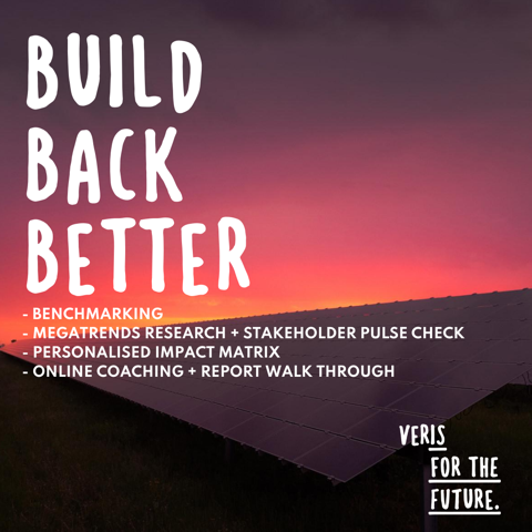Are you ready to Build Back Better?