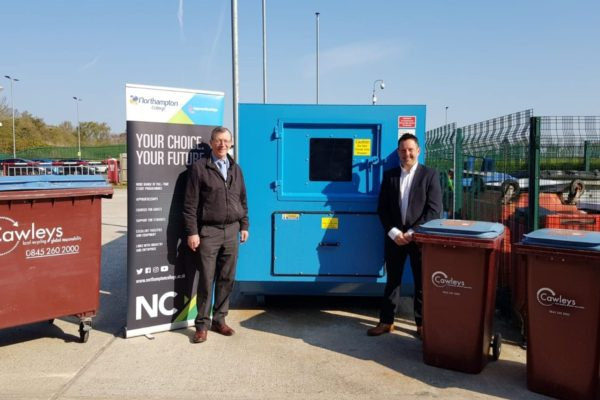 Northampton College gets sustainability boost with Cawleys tie-up