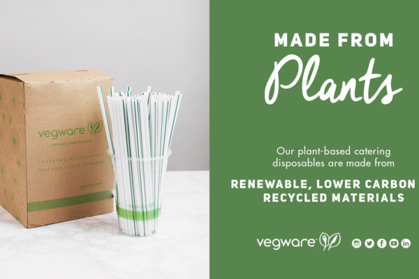 Do you want to be super sustainable? Make these 3 crucial changes with Vegware