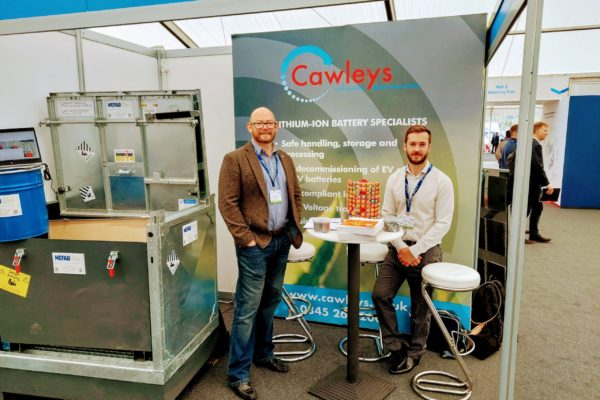 Exhibiting at the Low Carbon Vehicle show